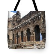 Red Basilica Scene 3 Tote Bag