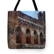 Red Basilica Scene 7 Tote Bag