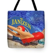 Red Bathing Suit Tote Bag