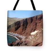 Red Beach Conclave 2  Tote Bag