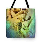 Red Bellied Dream Tote Bag