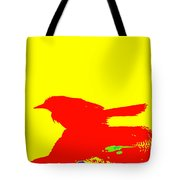 Red Bird 2 Tote Bag