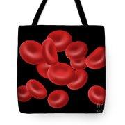 Red Blood Cells, Illustration Tote Bag