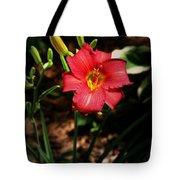 Red Bloom Tote Bag