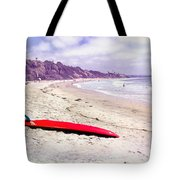 Red Board Tote Bag