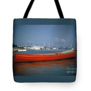 Red Boat Mexico Tote Bag