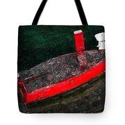 Red Boat Tote Bag