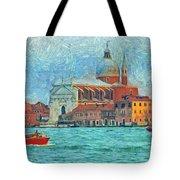 Red Boat Venice Tote Bag