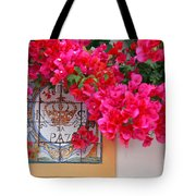 Red Bougainvilleas Tote Bag