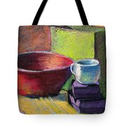 Red Bowl Tote Bag