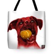 Red Boxer Mix Dog Art - 8173 - Wb Tote Bag