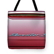 Red Boxster S Tote Bag