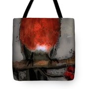 Red Breasted Tote Bag