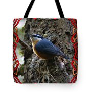 Red Breasted Nuthatch 2 Tote Bag