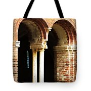 Red Brick Archway Soft Tote Bag