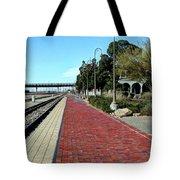 Red Brick Walkway Tote Bag