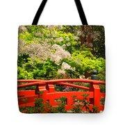 Red Bridge Springtime Tote Bag