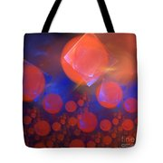 Red Bubble Suns Tote Bag