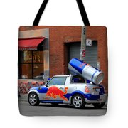 Red Bull Car Tote Bag