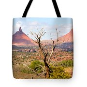Red Buttes Tote Bag