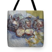 Red Cabbages And Onions Paris, October - November 1887 Vincent Van Gogh 1853  1890 Tote Bag