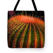 Red Cactus Tote Bag