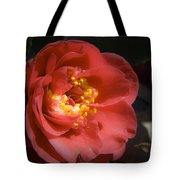 Red Camellia Bloom Tote Bag