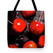Red Candy Apples Or Apple Taffy Tote Bag