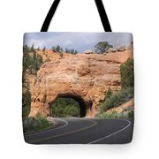 Red Canyon Tunnel Tote Bag