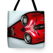 Red Car 007 Tote Bag