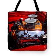 Red Car Engine  Tote Bag