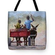 Red Cart Tote Bag