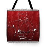 Red Cats Tote Bag