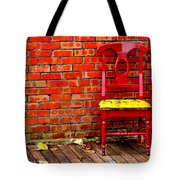 Red Chair  Tote Bag
