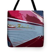 Red Chevy Tote Bag