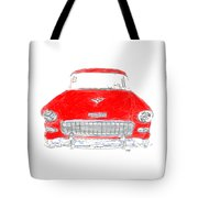 Red Chevy T-shirt Tote Bag