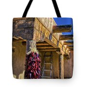 Red Chillies At New Years Tote Bag