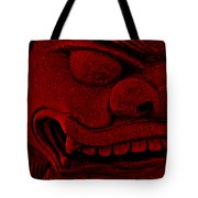 Red Chinese Dragon Tote Bag