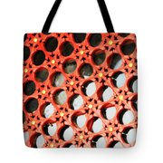 Red Chinese Window Tote Bag