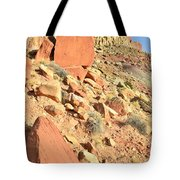 Red Chips Tote Bag