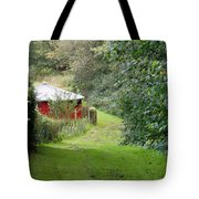 Red Cistern Tote Bag