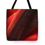 Red Classic Car Details Tote Bag