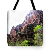 Red Cliffs Zion National Park Utah Usa Tote Bag