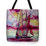 Red Cloud Sail Tote Bag