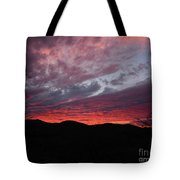Red Cloud Sunset Tote Bag