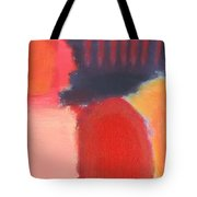 Red Combination Tote Bag