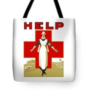 Red Cross Nurse - Help Tote Bag