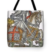 Red Cross Knight, 1598 Tote Bag