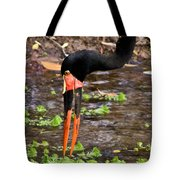 Red-crowned Crane Tote Bag