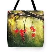 Red Currants Tote Bag